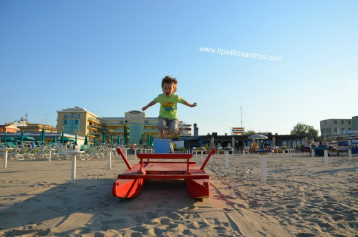 Adriatic Coast Cesenatico Italy with kids