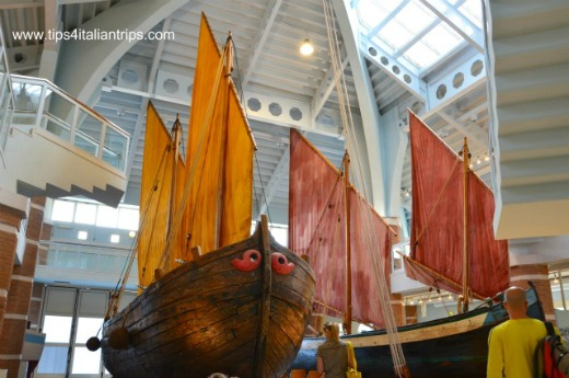Italy for kids Maritime Museum Cesenatico Indoor Section