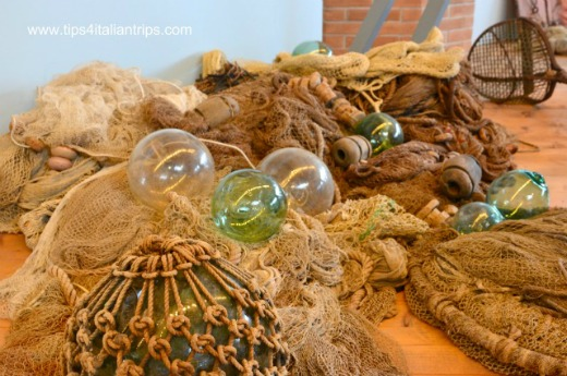 Italy with kids Maritime Museum Cesenatico fishing nests