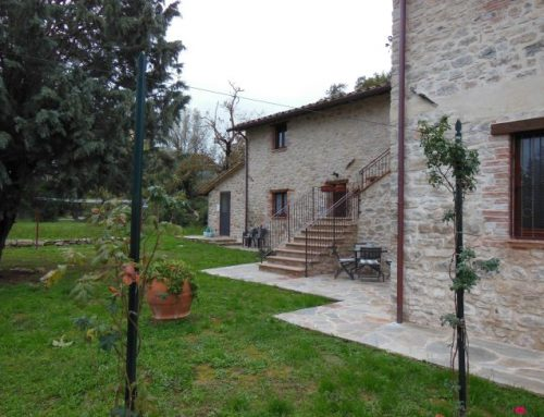 Holidays at Il Piccolo Noce, accommodation in Umbria