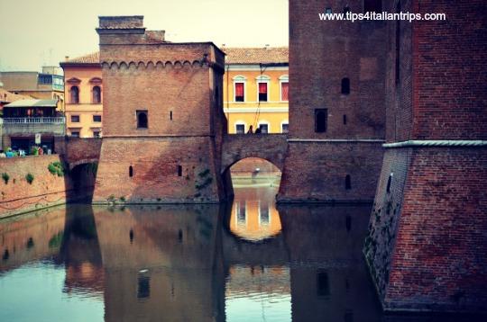 Ferrara Castle water