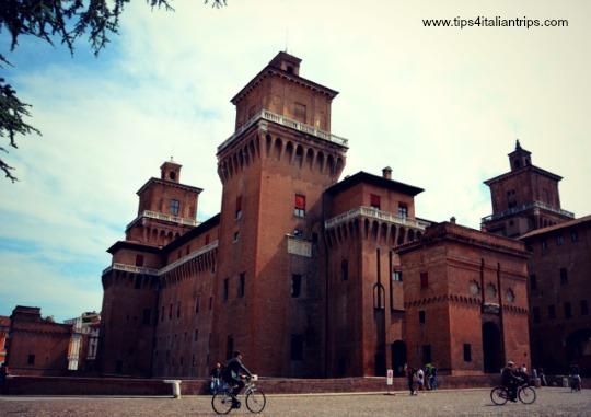Ferrara Estense Castle overview