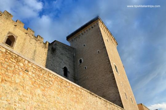 Spoleto rocca torre