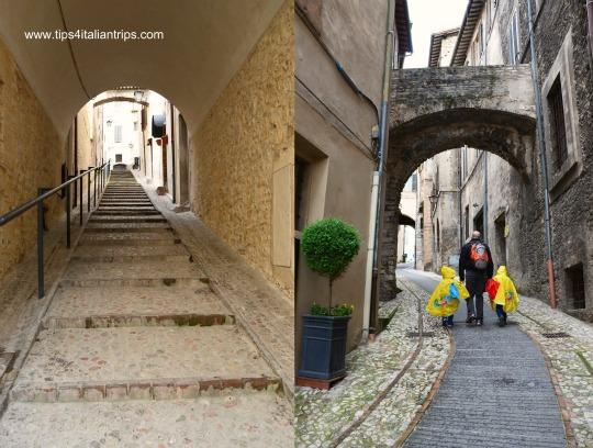 Spoleto walking slowly