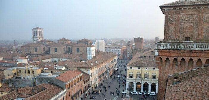 A fairytale castle in Ferrara