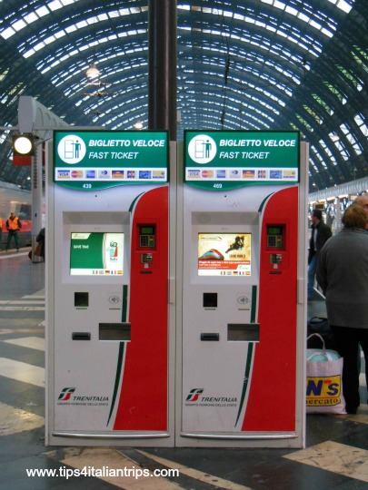 Automatic ticket machines