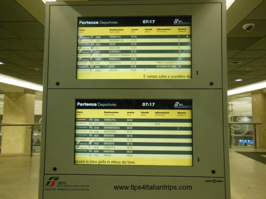 Departure and Arrival Displays