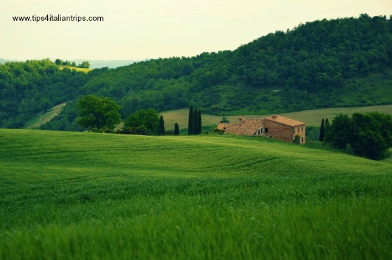 San Settimio View on countryhouse