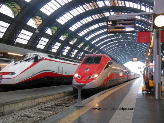 Frecciabianca & Frecciarossa high-speed trains