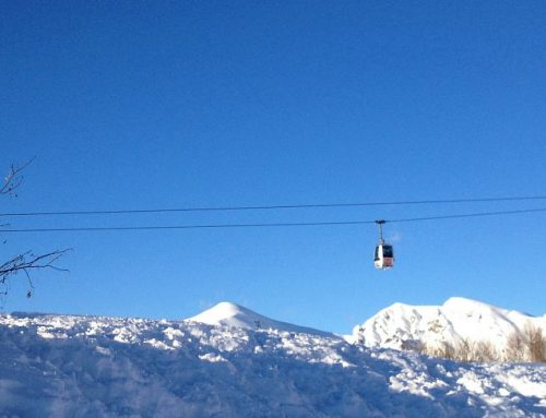 Skiing in Lombardy close to Milan