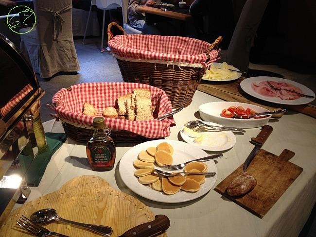 buffet salato hotel cogne