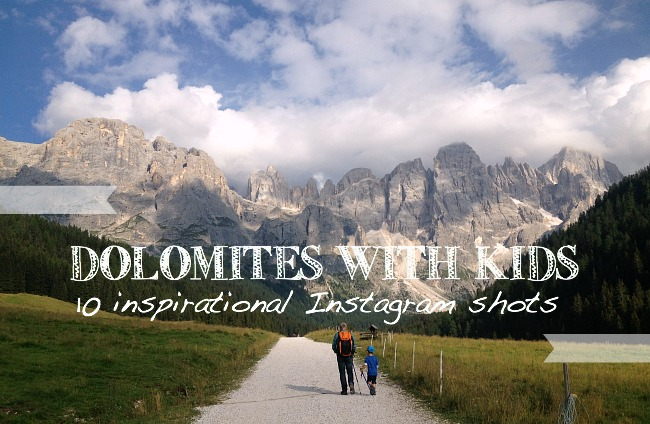 dolomites with kids