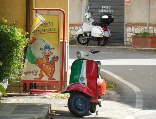 Motorbike itineraries in Italy