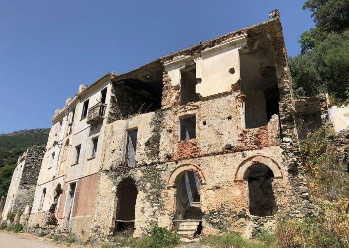 Gairo the ghost town of Sardinia