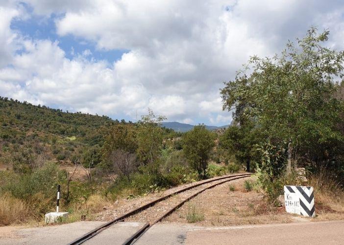 take the green train and explore the inland of sardinia